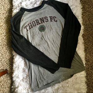 Portland Thorns FC Baseball Style T-shirt